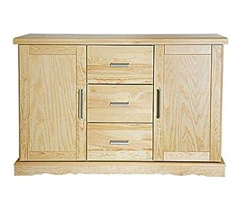 buffet commode meuble cuisine 120 cm de largeur
