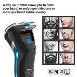 Electric Razor for Men, MAX-T 3D Waterproof IPX7