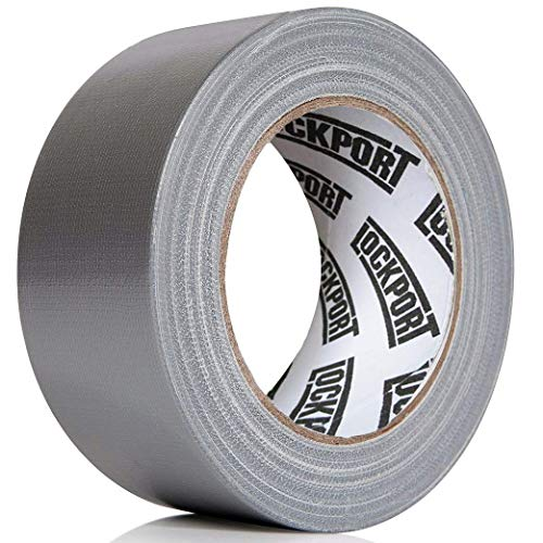 Silver Duct Tape 2 Pack: Heavy Duty - Multi Pack - 30 Yards x 2 inch Wide - Large Bulk Value Pack of Grey Original Extra Strength, No Residue, All Weather, Tear by Hand