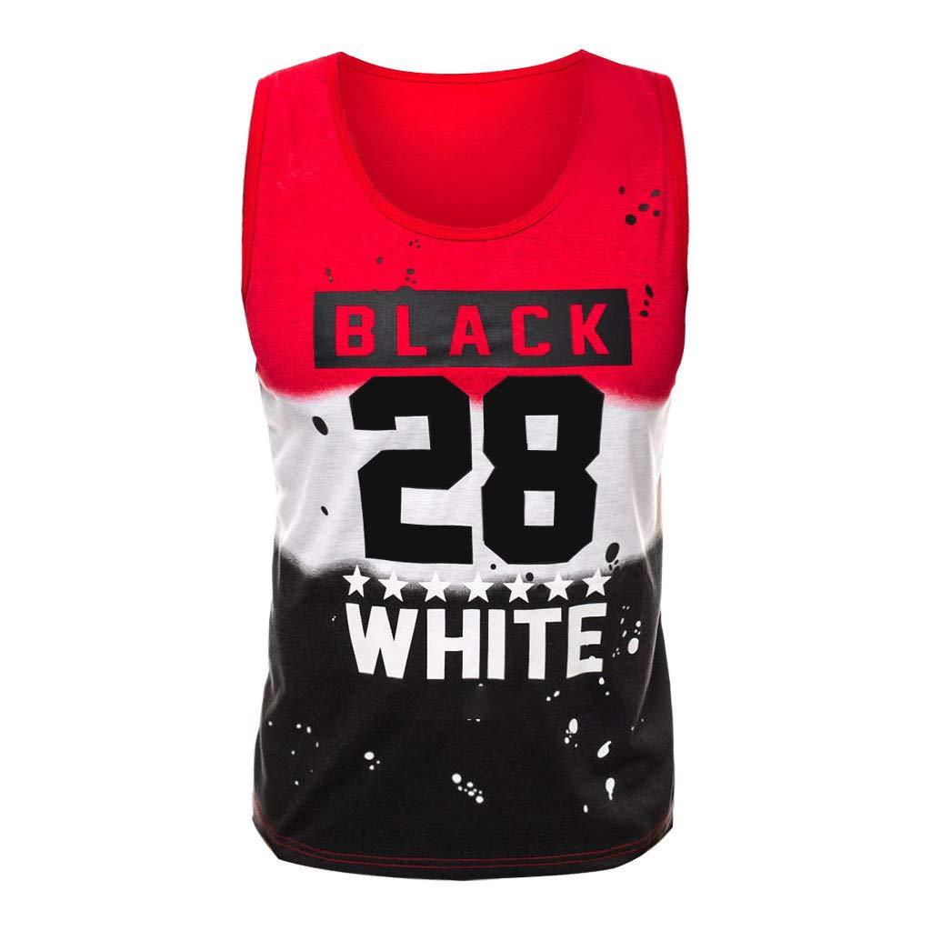 Camisetas Estampado de Patrones Camiseta con Capucha de Cuello b/ásico Brillanto 2019 Camiseta Hombre Manga Corta Cuello Redondo