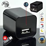 Spy Camera Charger - Hidden Camera Adapter - Mini Spy Camera 1080p - USB Charger Camera - Hidden Spy Camera - Hidden Nanny Cam - Hidden Spy Cam - Hidden Cam - Best Home Security Camera Charger FULL HD