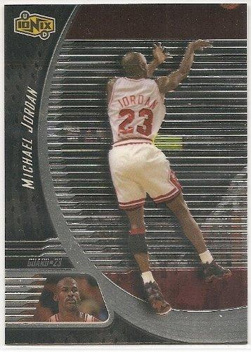 Michael Jordan 1998-99 UD Ionix Chicago Bulls Card #2