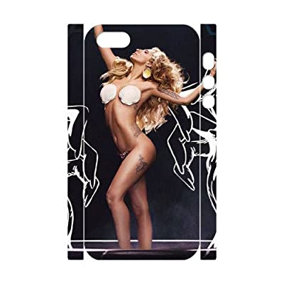 VNCASE Lady Gaga Phone Case For iPhone 5,5S [Pattern-6]