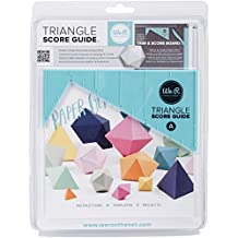 We R Memory Keepers Triangle Score Guide by We R Memory Keepers