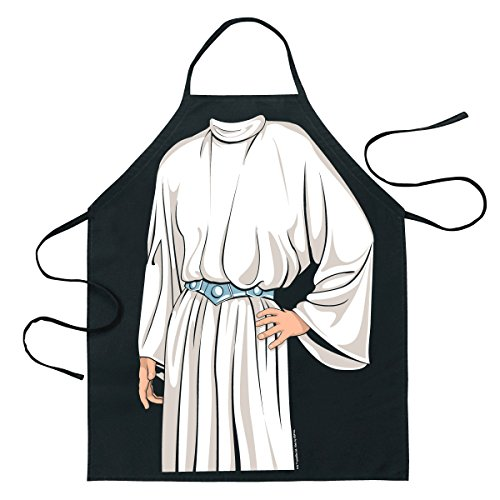 ICUP FBA_14171 Star Wars Princess Leia Gown Character Apron, One Size, Multicolor