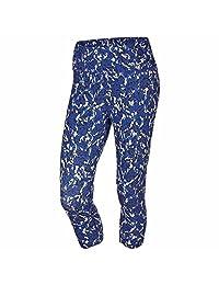 Nike Womens Dri-Fit Athletic Capris Blue Camo