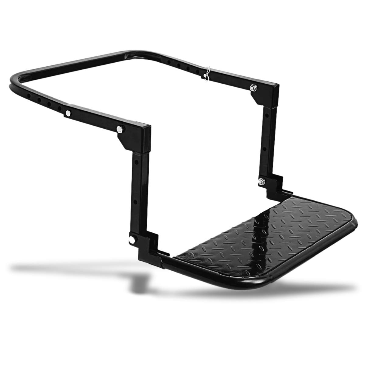 Zone Tech Durable Tire Step Classic Black Premium Quality Durable Tire Stepping Platform Perfect for Cleaning Working on Engines and Many More
