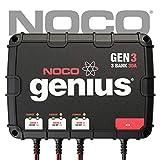 NOCO Genius GEN3 30 Amp 3-Bank On-Board Battery...