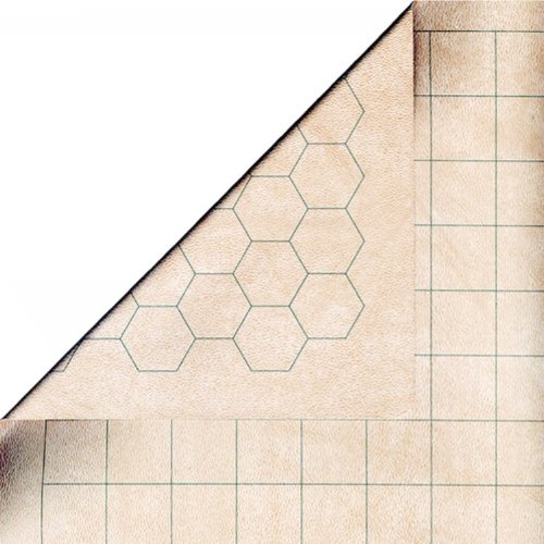 LARGER SIZE - Chessex Role Playing Play Mat: Battlemat Double-Sided Reversibl...