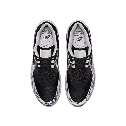 Shoes Leather Air Vast Black Black 90 Max Grey Running Nike Women's zIqYpSF