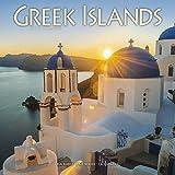 Greek Island Calendar - Greek Islands Calendar - Calendars 2018-2019 Wall Calendars - Photo Calendar - Greek Islands 16 Month Wall Calendar by Avonside