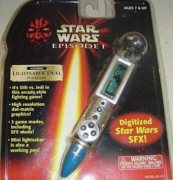(Star Wars Episode I Pen Game: Lightsaber Duel)