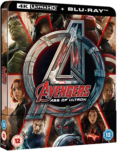 Avengers Age Of Ultron 4K Limited Edition Steelbook / Import / Includes Region Free 2D Blu Ray: Amazon.es: Cine y Series TV
