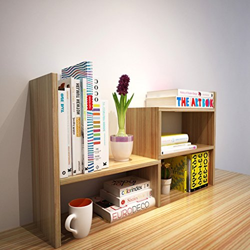LQQFFHome shelves, Creative retractable bookshelf bookshelf desk children...