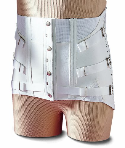 Men's Fitted Lumbosacral Back Support Corset Design Lower Back Brace Chronic Back Pain Relief (38