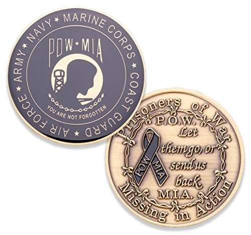 (Coins For Anything Inc POW/MIA Coin)