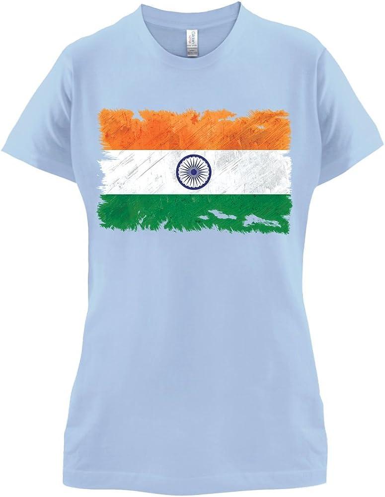 India Grunge Estilo Bandera – Camiseta – cielo azul – grande: Amazon.es: Ropa y accesorios