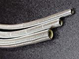 Taylor Cable 39000 ShoTuff Chrome Convoluted Tubing Kit