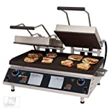 """Table Top King star (CG28IE) - 34"""" Grooved Split-Top Pro-Max Sandwich Grill"""