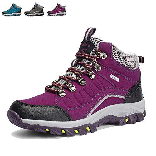 304091b215533f [レロコ] トレッキングシューズ メンズ レッド レディース シューズ 登山靴 アウトドアシューズ ウォーキング トレッキング 山登り