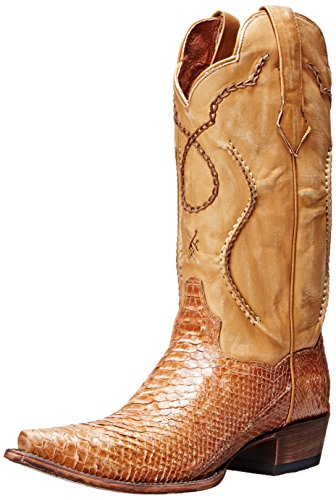 Dan Post Python Mens Boots (Dan Post Men's Okeechobee Western Boot, Honey, 11 D)