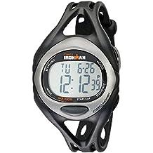 Timex Men's T54281 Ironman Sleek 50 Full-Size Black/Silver-Tone Resin Strap Watch