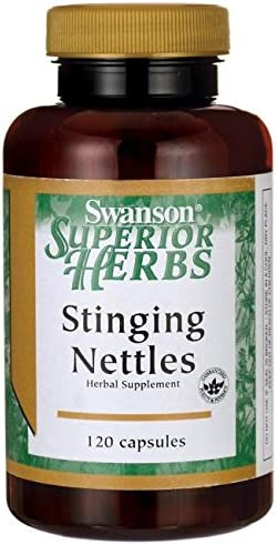 Stinging Nettles Root 120 Caps 2 Bottles