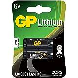 GP Batteries Lithium 2CR5 Litio 6V - Pilas (Litio, -40 - 60 °C, Negro, Ampolla)