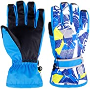 TRIWONDER Kids Winter Ski Gloves Waterproof Windproof Warm Snow Skiing Snowboard Gloves for Men, Women and Kid