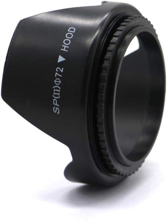 Sony 72mm Petal-Shaped Lens Hood Suitable for Canon Nikon FujiFilm Olympus Digital Cameras etc All Types of Camera Lenses of The Same Diameter