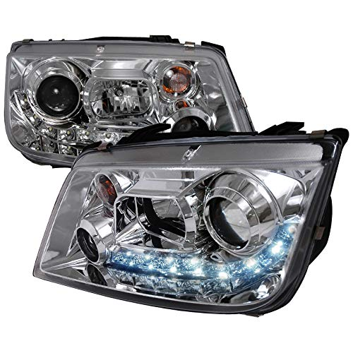 Velocity Concepts For VW Jetta R8 Led Style Chrome Projector Headlights