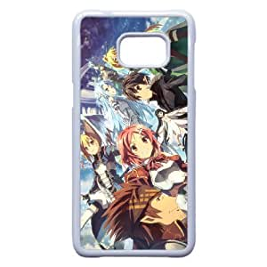 Anime Series Cartoon Design Sword Art Online Protective Case for Samsung Galaxy S6 Edge Plus Case JS007