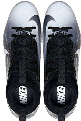 Nike Herren Feld Allgemein 3 Elite TD Fußballschuh Schwarz / Weiß / Mittelgrau