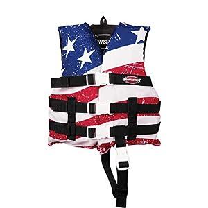 SportsStuff Stars & Stripes Life Jacket Children's General Boating PFD