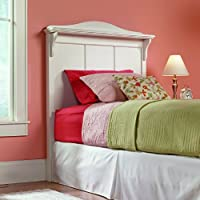 Sauder Pogo Headboard, Twin, Soft White Finish