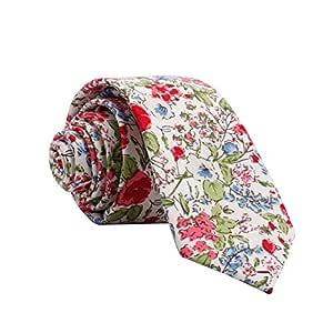 YYB-Tie Corbata Moda Tipo de Flecha Lindo Casual Algodón Estampado ...