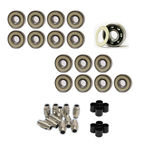 Amphetamine Roller Hockey Bearings Inline Skate SPEED KIT Abec 7 Stainless Steel by Amphetamine