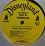 All The Songs From Walt Disney's Alice In Wonderland LP