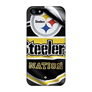 Evanhappy42 Cases Covers For Iphone 5/5s - Retailer Packaging Pittsburgh Steelers Protective Cases
