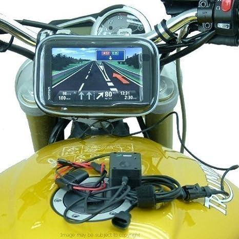 Drahtgebunden Betrieben 17 5 Mm 20 5 Mm Motorrad Gabel Halterung Für Tomtom Start 60 Sku 17373 Elektronik