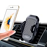 Xdtlty Car Phone Mount, Air Vent Phone Holder for Car, Handsfree Cell Phone Car Mount Compatible with iPhone, Samsung, Android Smartphones