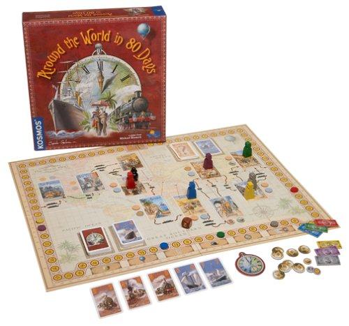 Amazon.com: Rio Grande Games Around the World in 80 Days: Toys & Games