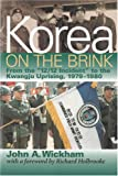 Korea on the Brink 9781579060237