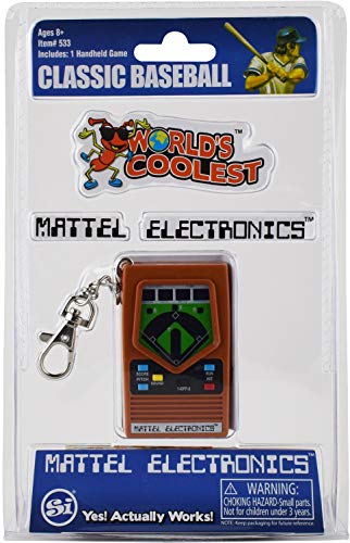 World's Coolest Mattel Electronic Games - Baseball Handheld Games from World's Largest Bubble