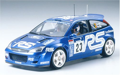 #24261 Tamiya Ford Focus RS WRC 02 1/24 Plastic Model Kit,Needs - Retard Kit