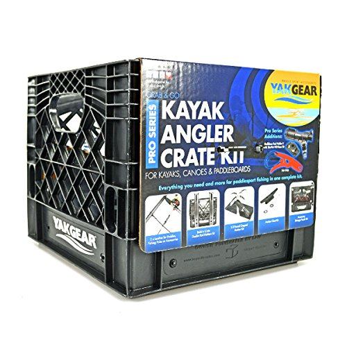 (Yak Gear 01-0005-01 Kayak Angler in Crate Pro Series Kit)