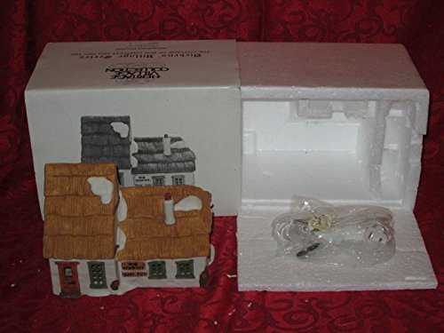 Retired Original Series Dept 56 Heritabe Village Collection A Christmas Carol Dickens' Village Series Cottage of Bob Cratchit & Tiny Tim by Dickens' Village Series, Dept 56