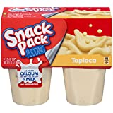 Snack Pack Tapioca Pudding Cups, 4 Count