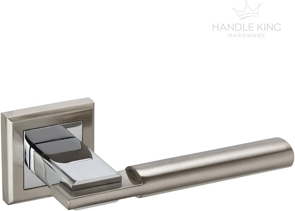Stainless Steel Interior Door Handle Packs Duo Polished /& Satin Finish