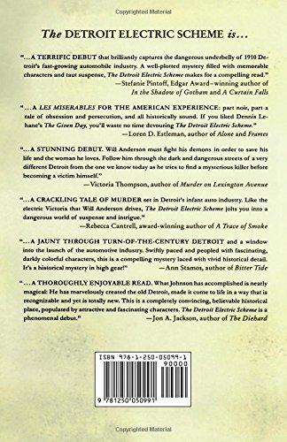 Amazon.com: The Detroit Electric Scheme: A Mystery (Detroit ...